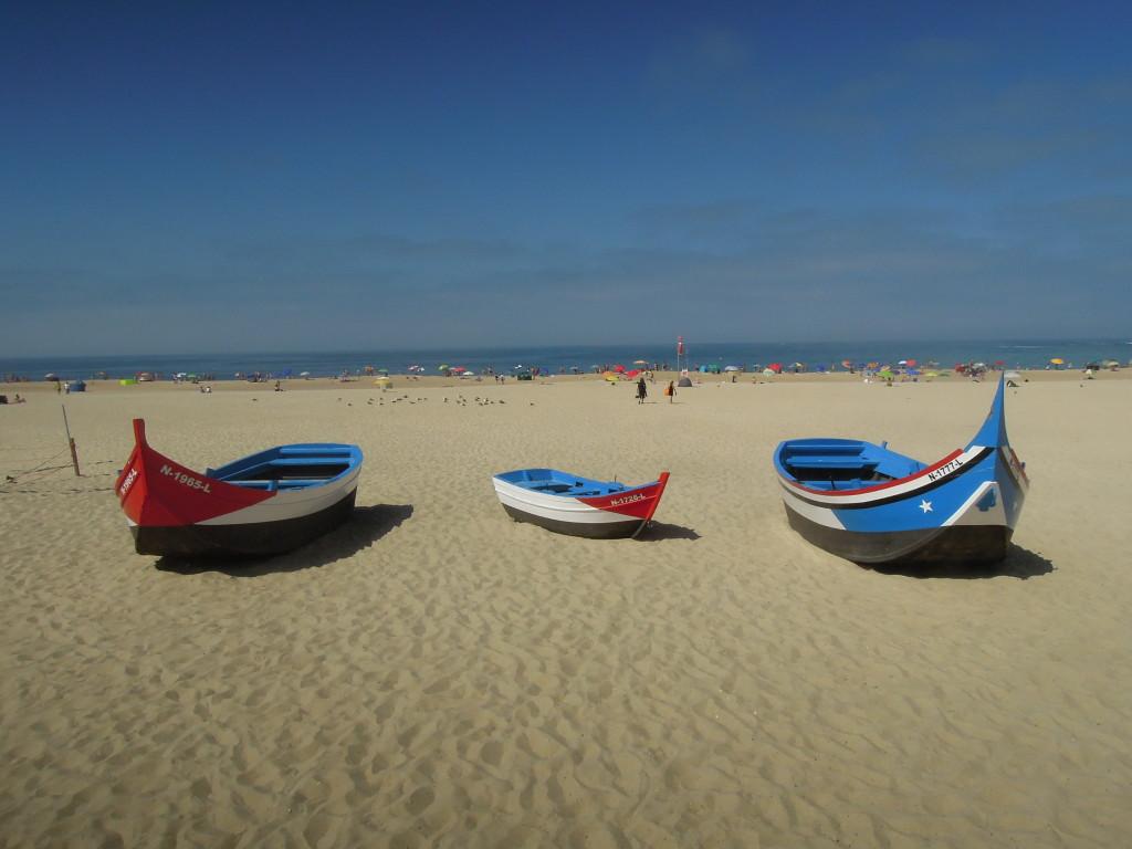 Fischerboote in Nazare